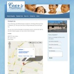 Coor's Pharmacy Contact Page