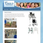Coor's Pharmacy Medical Page